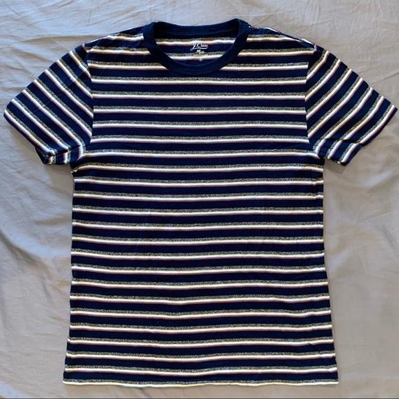 J Crew Slub Cotton Crewneck T-shirt